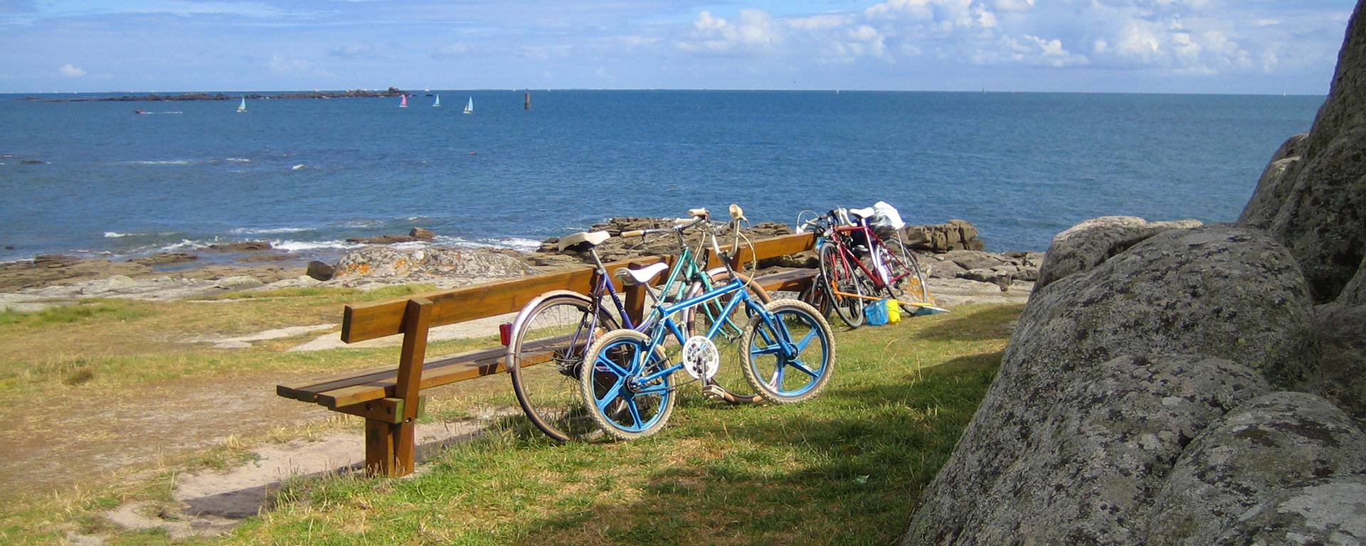 Radtour mit der ganzen Familie: an der Küste entlang im Pays Bigouden © E Cléret