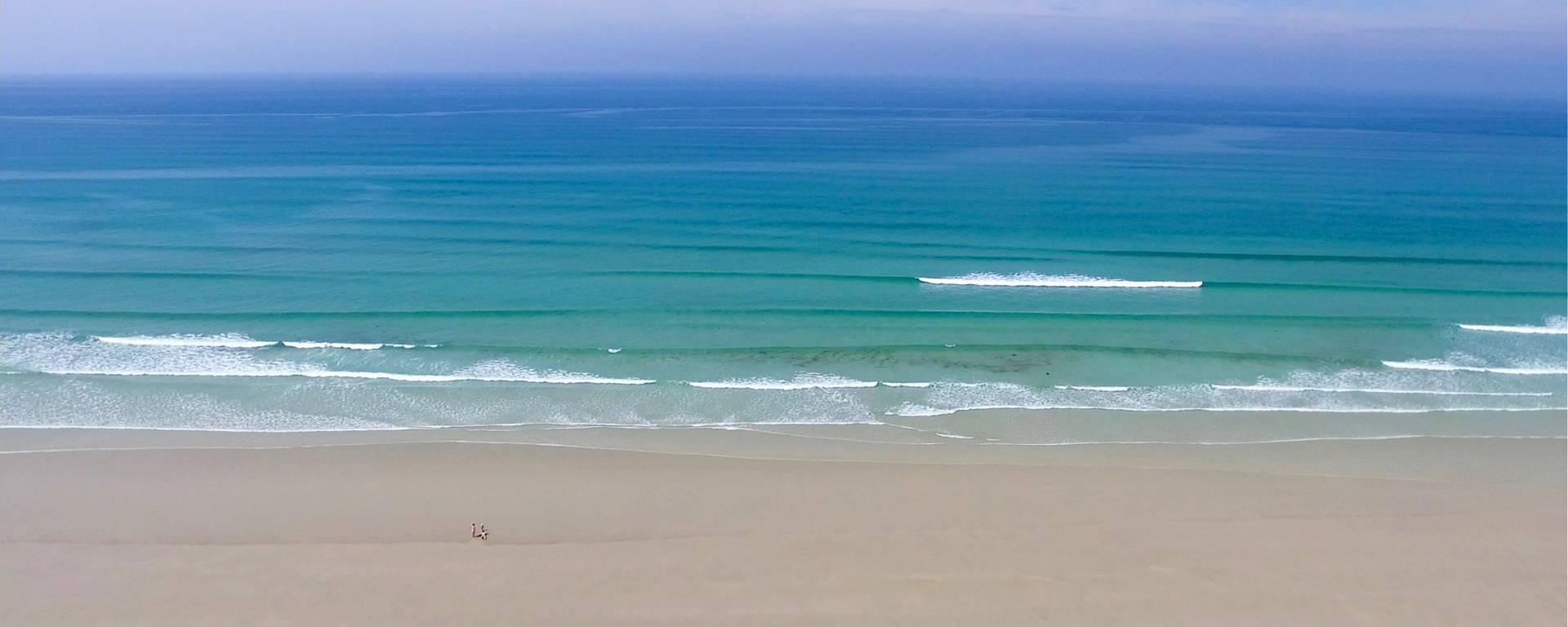 Strand in Plovan im Pays Bigouden © Air Pixel Concept