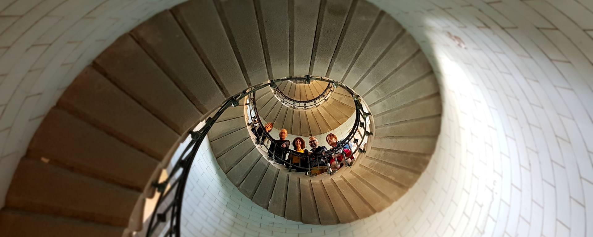 Intérieur du Phare d'Eckmühl © E Cleret