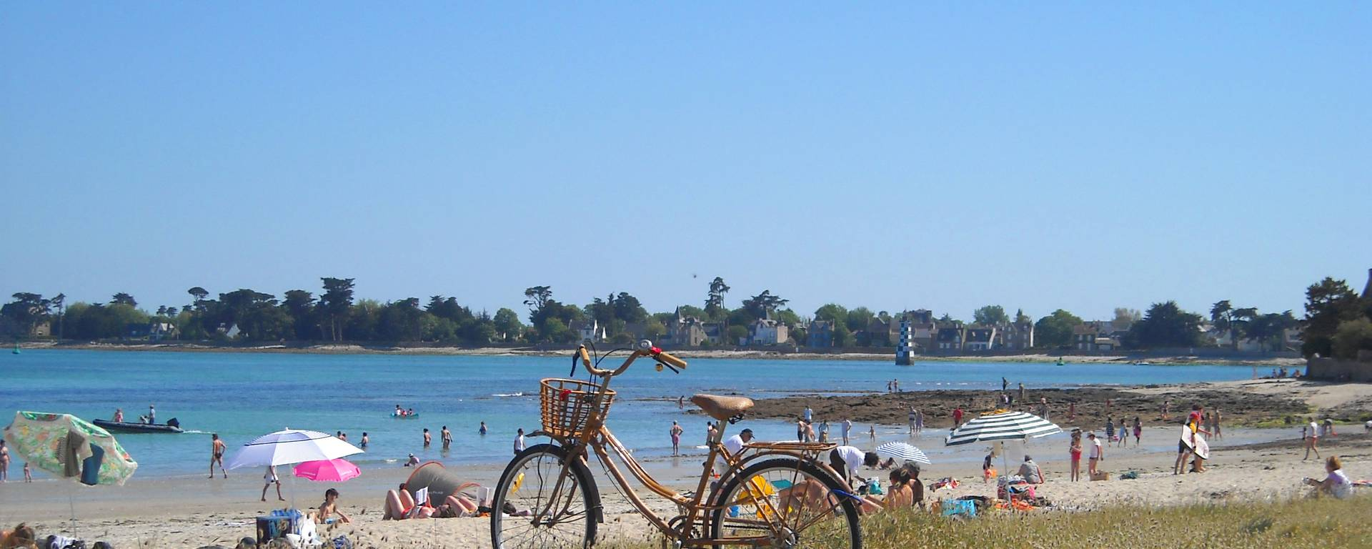 Ile-Tudy beach© AOCD