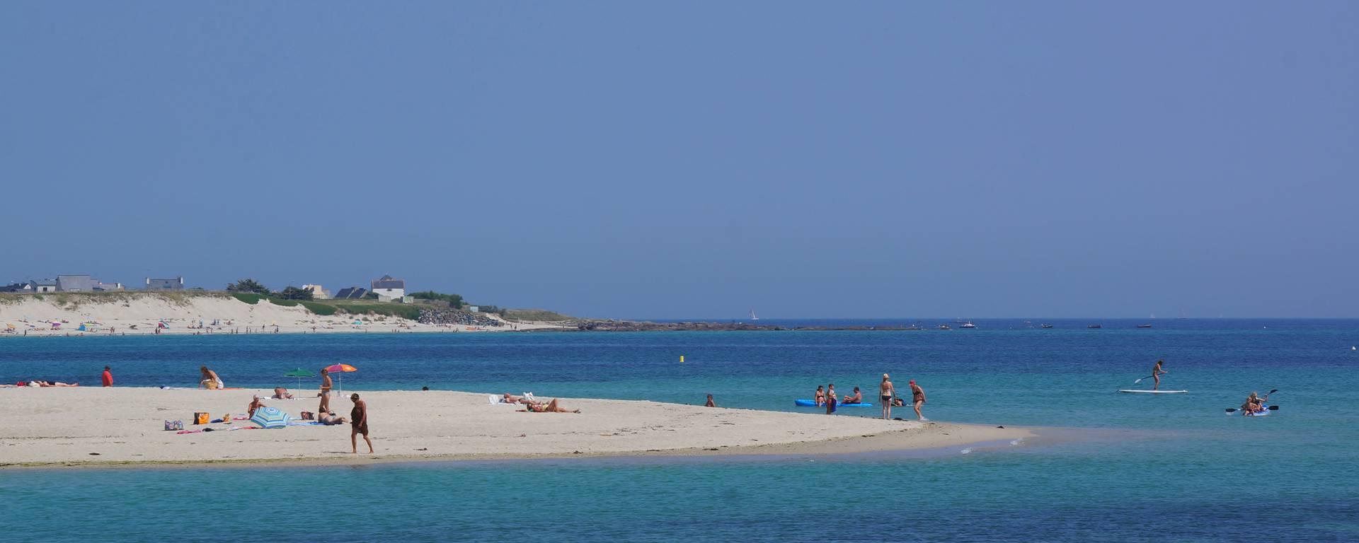 Plage des Sables Blancs beach, Loctudy