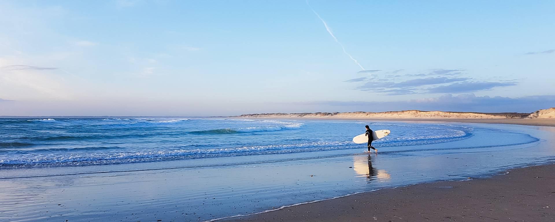 surf en Pays Bigouden © E Cléret