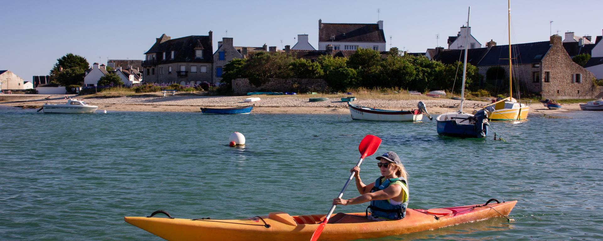 Kayak - ©L. Gloaguen