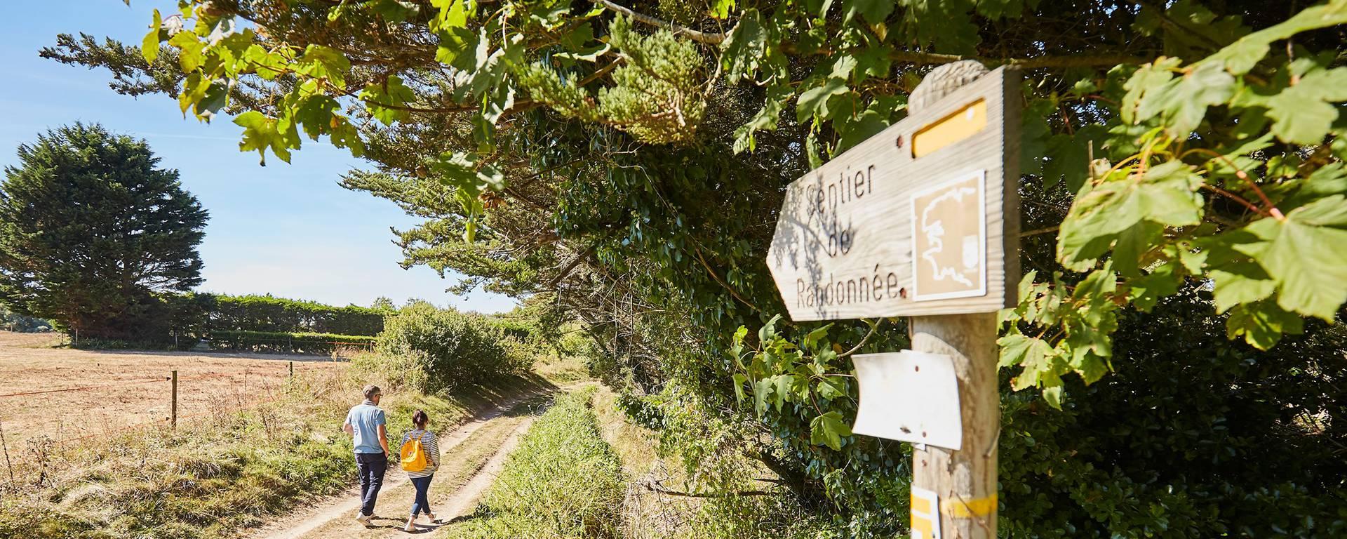 Sentiers de randonnée à Penmarc'h © A Lamoureux