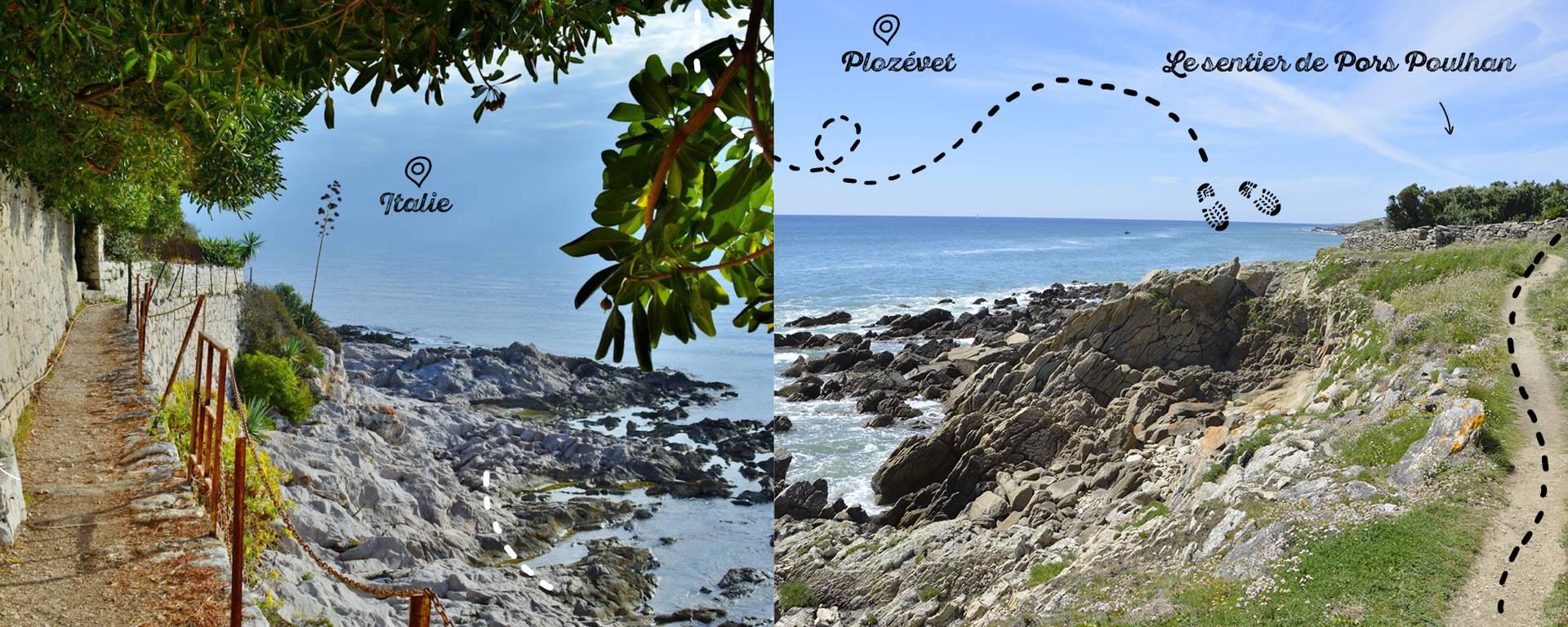 Il fait bon sentir l'air de la mer en flânant sur les sentiers de la côte de Plozévet © M. HAMEL