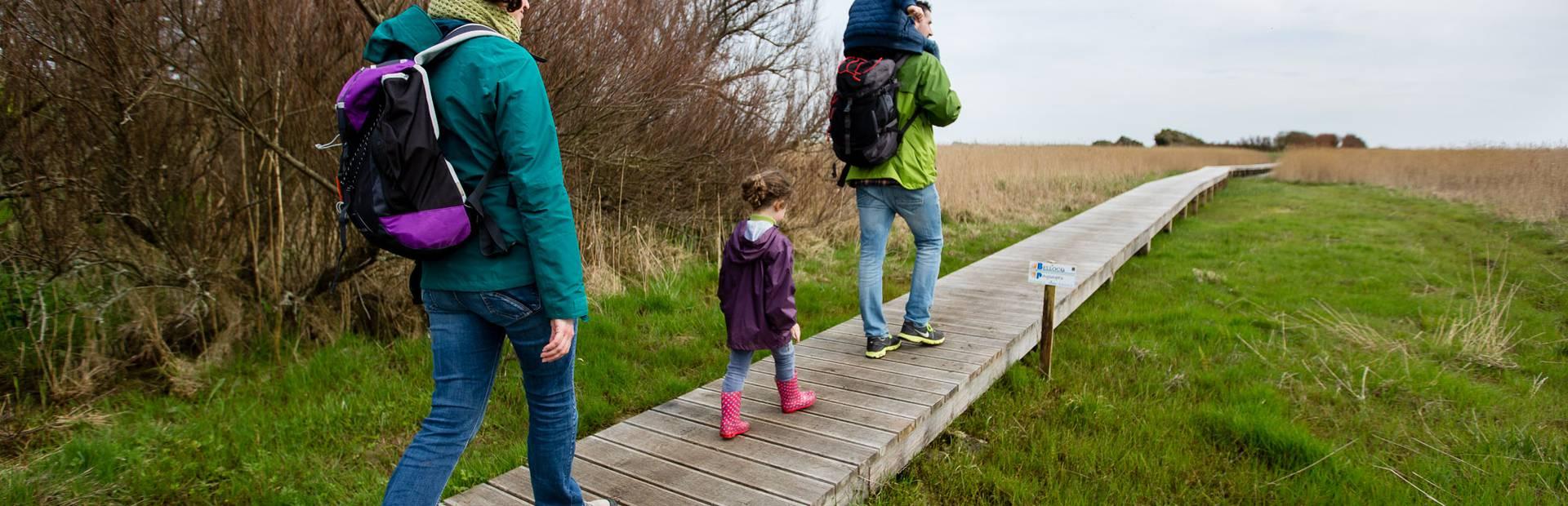 Wandern mit der ganzen Familie im Pays Bigouden © Y Derennes