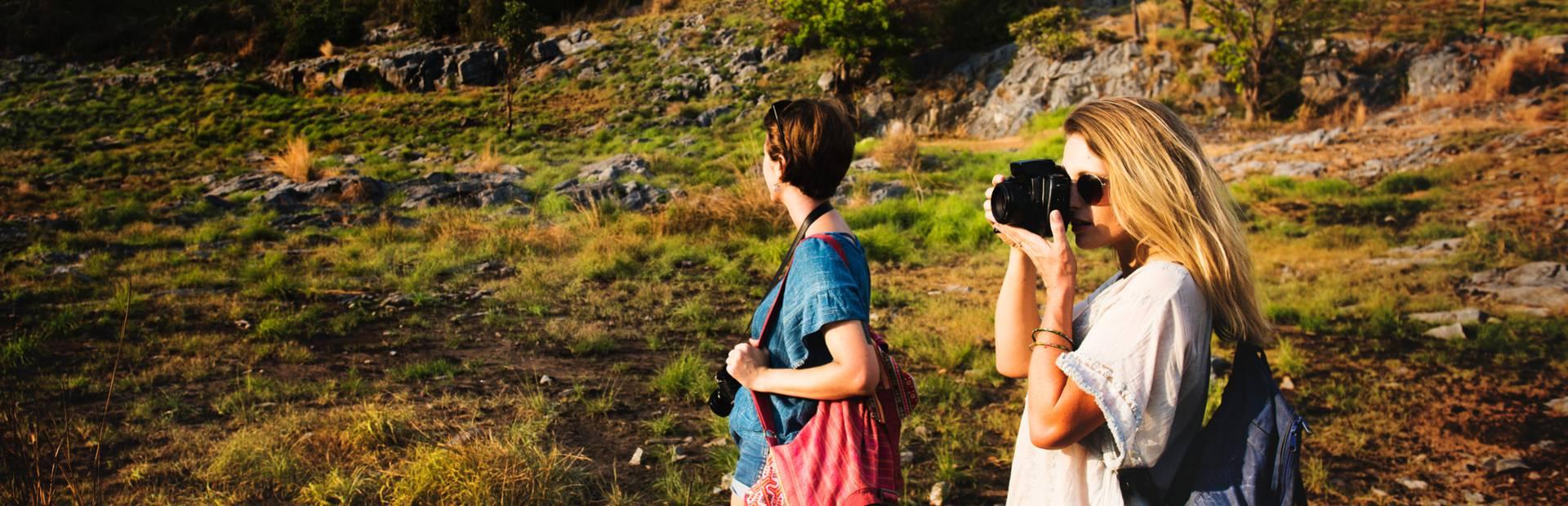 Walking with friends in Pays Bigouden
