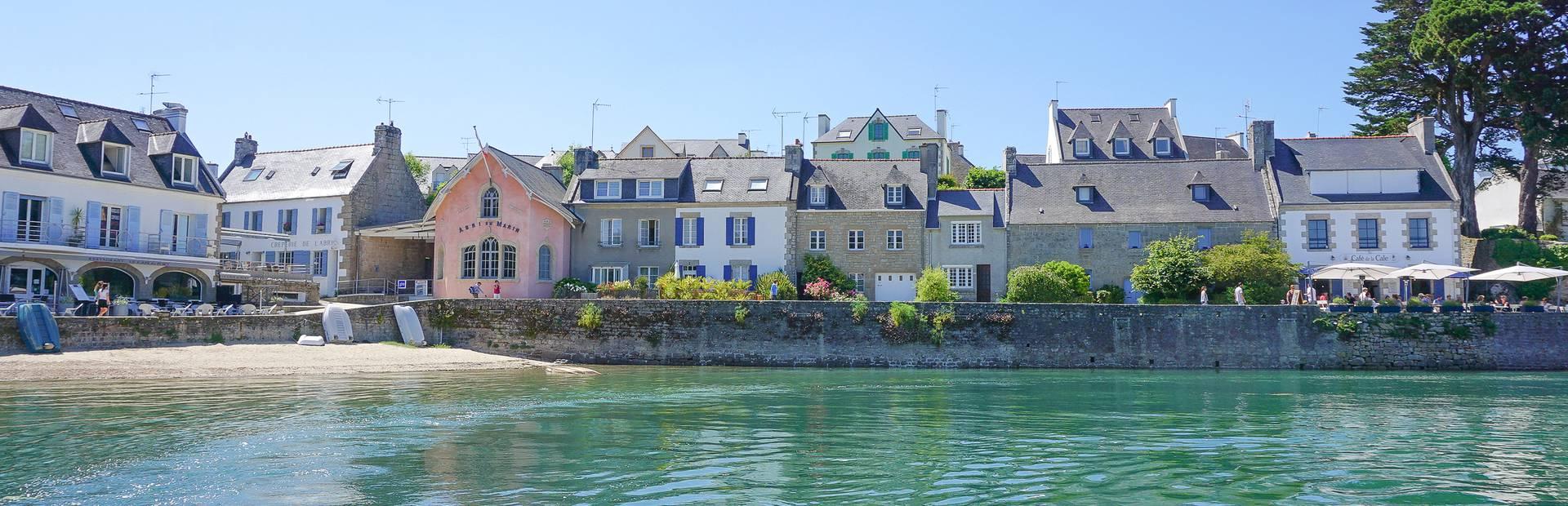 Que faire, que visiter à Combrit ? Le Port de Sainte-Marine ©E.Cleret
