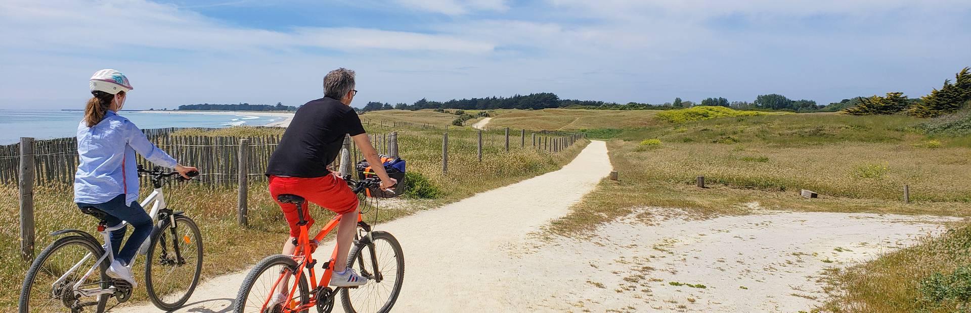 faire du vélo en Pays Bigouden © E Cléret