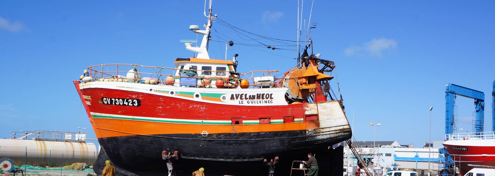 Léchiagat harbour, Pays Bigouden © E Cléret.JPG