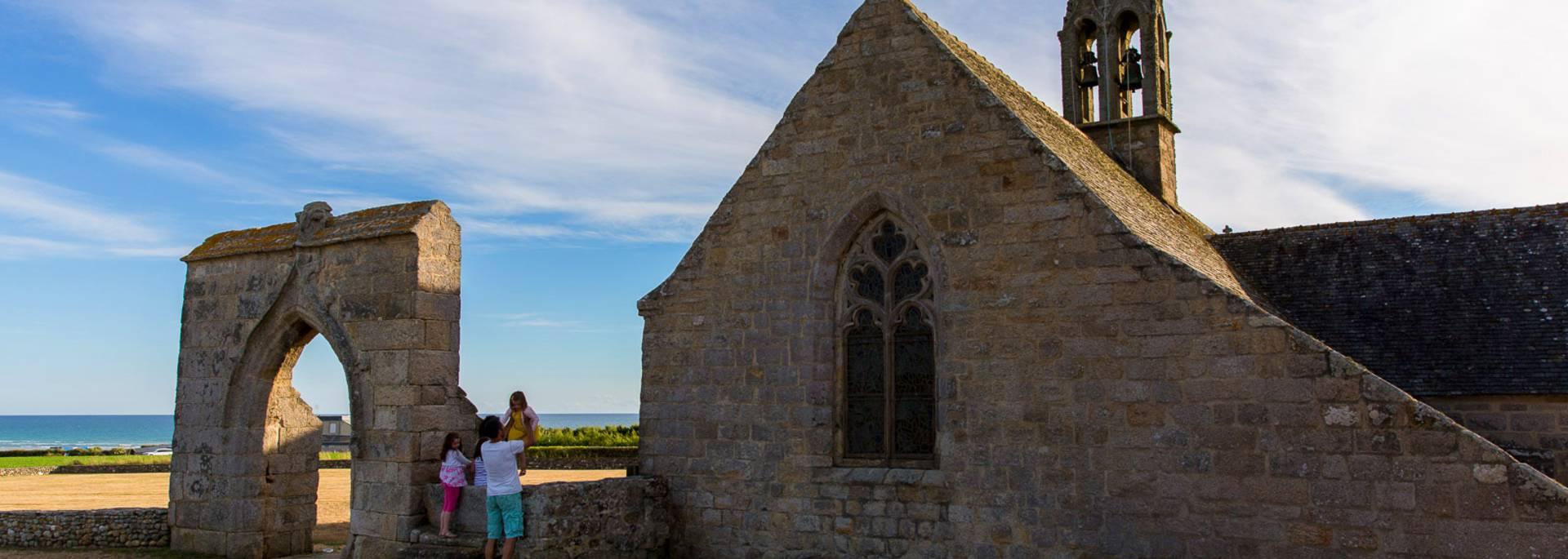 La chapelle de Penhors à Pouldreuzic © Y Derennes