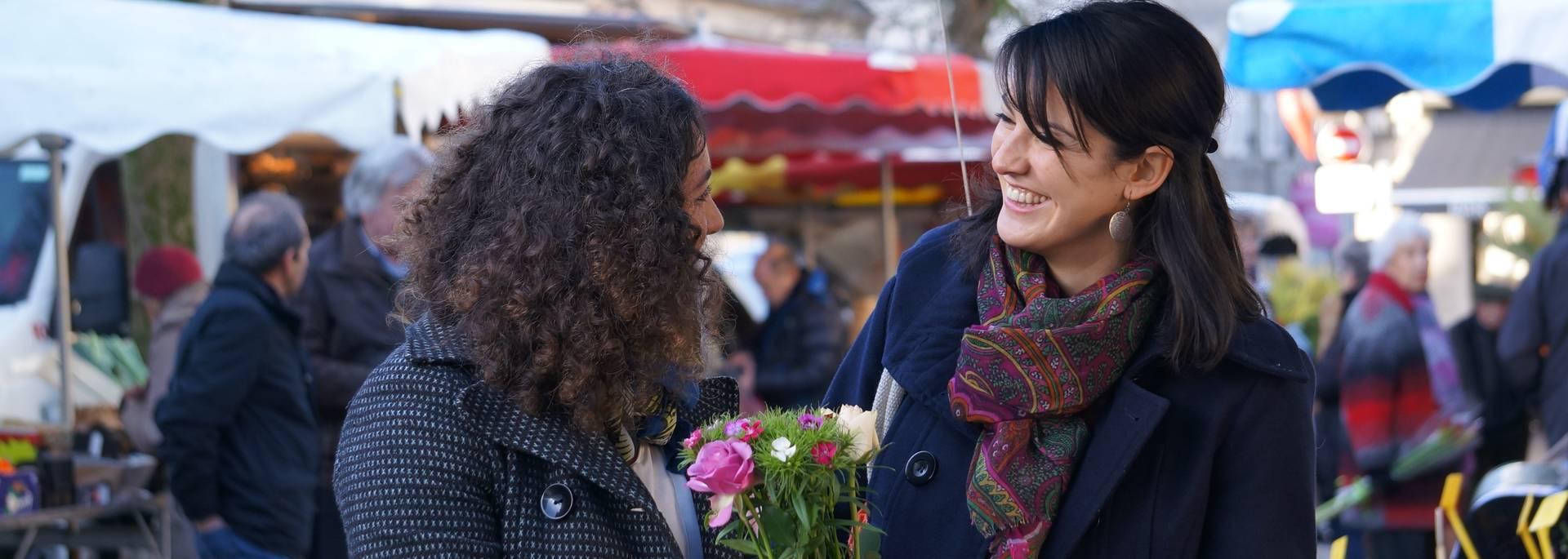 Un jour de marché à Pont-l'Abbé