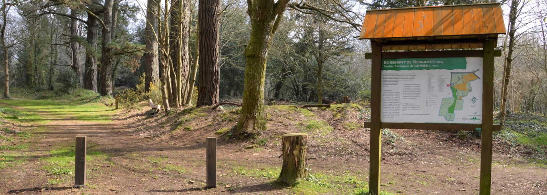Sentier botanique à Landudec en Pays Bigouden © M Hamel