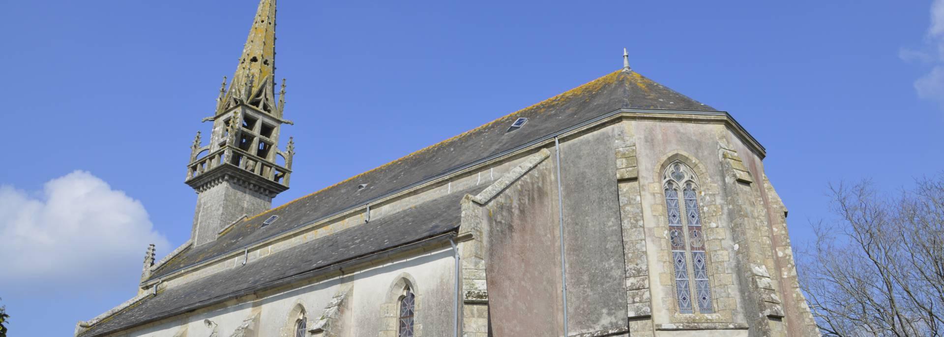 Eglise Saint Tudec en Finistère Sud © M Hamel
