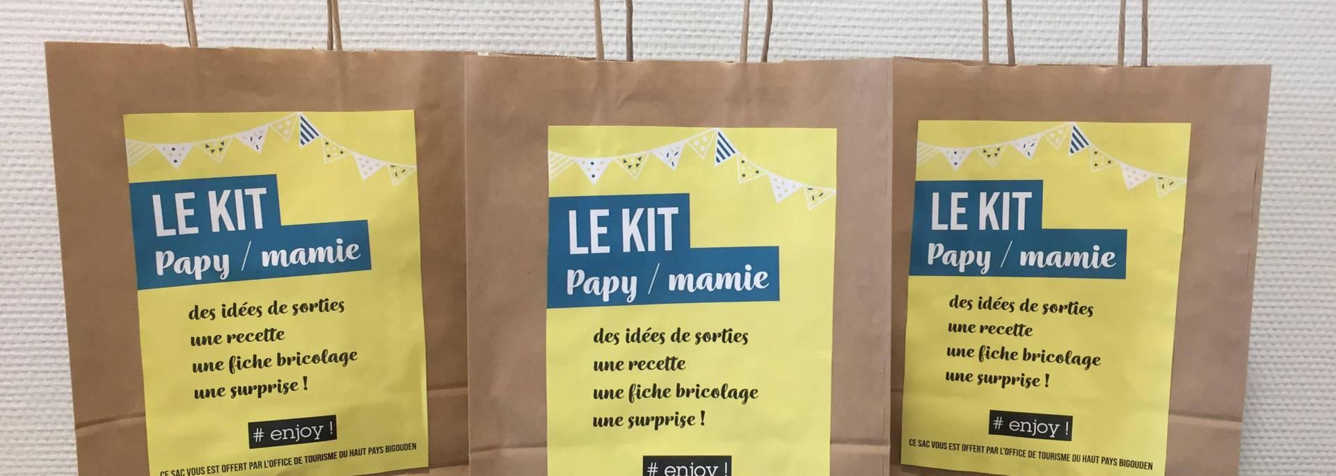 Le Kit Papy Mamie pour occuper ses petits-enfants en Pays Bigouden