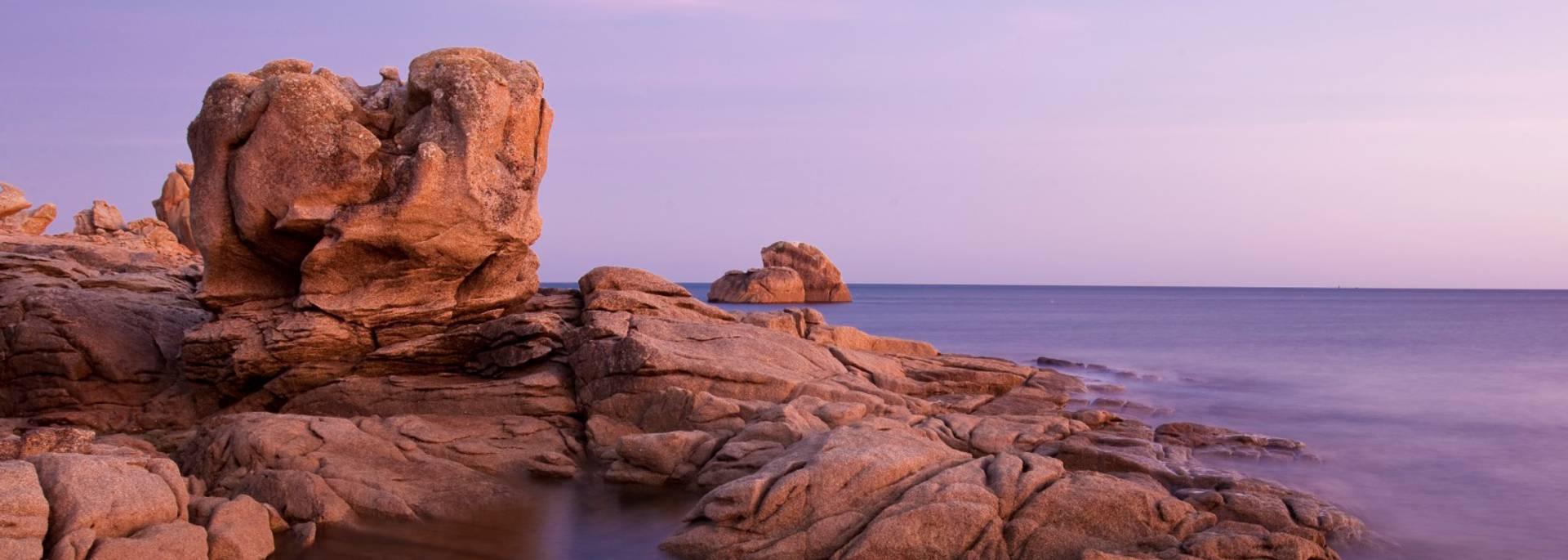 Les rochers de Lesconil © Philippe Doucet