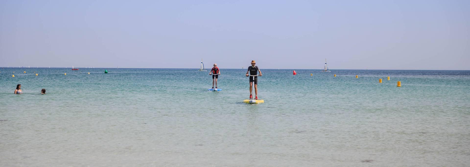Paddle elliptique - Île Tudy © L Gloaguen