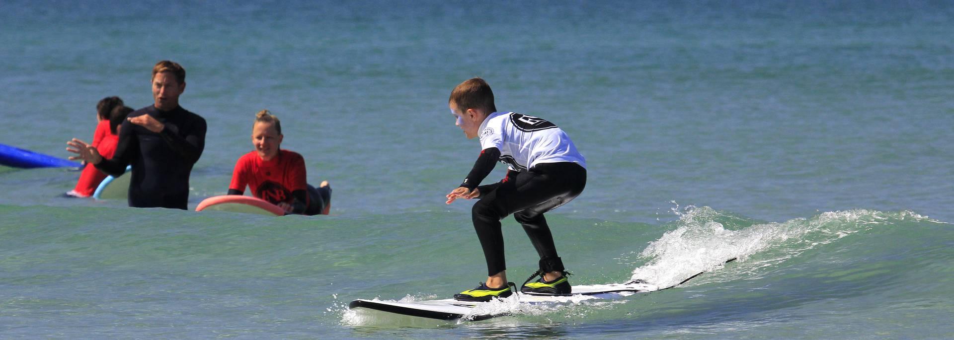 Cours de surf - ©ESB Penhors