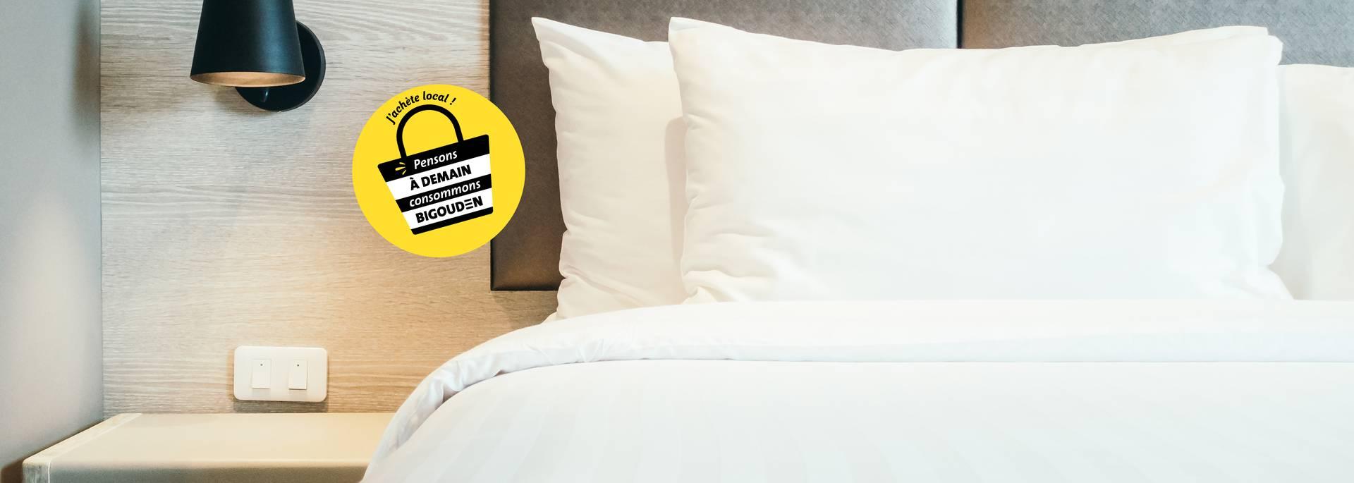 Certains hôtels sont ouverts aux professionnels en Pays Bigouden. © Mrsiraphol Freepik