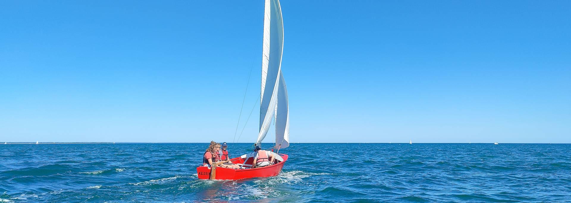 Le nautisme en Pays Bigouden © E Cléret
