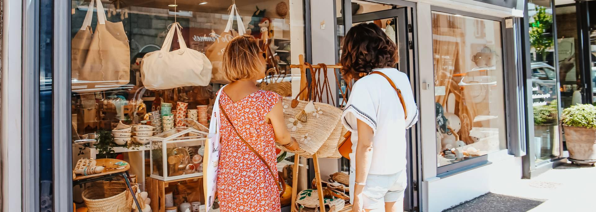 Shopping en Pays Bigouden © E Cléret