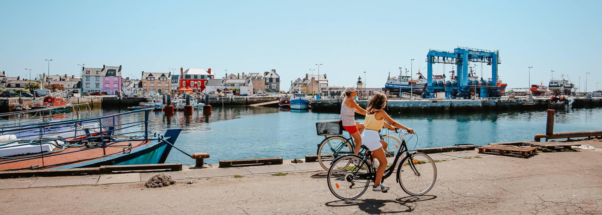 Vélo en Pays Bigouden© E Cléret