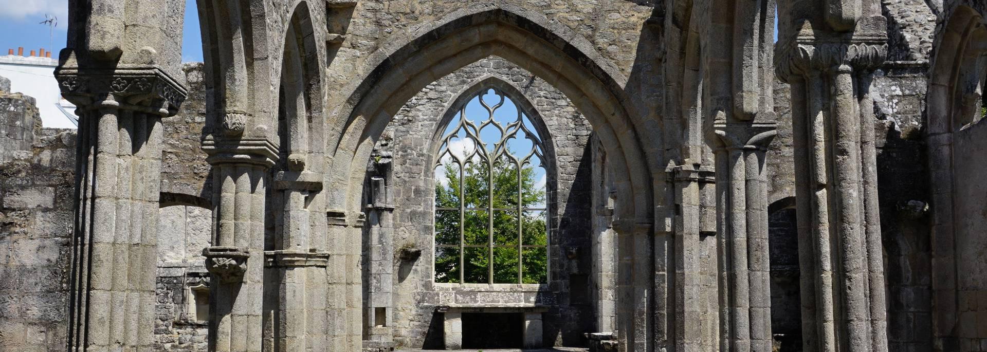 Église de Lambour - Pont-l'Abbé © OTPBS