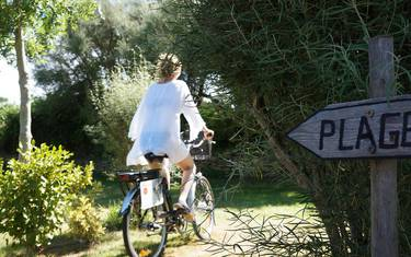 Balade à vélo en Pays Bigouden © E Cléret
