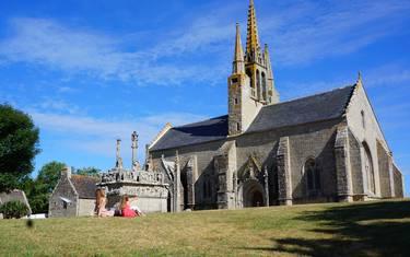 Besichtigen im Pays Bigouden - Kapelle und Kalvarienberg Tronoën © E Cléret