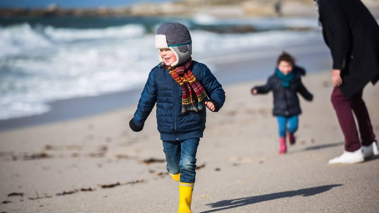 Courir sur les plages en hiver ©Y.Derennes