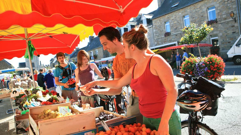 Le marché entre amis en Pays Bigouden © S Bourcier