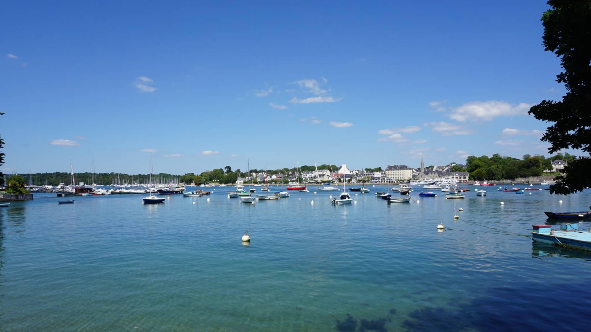 Webcam de Sainte-Marine en Pays Bigouden
