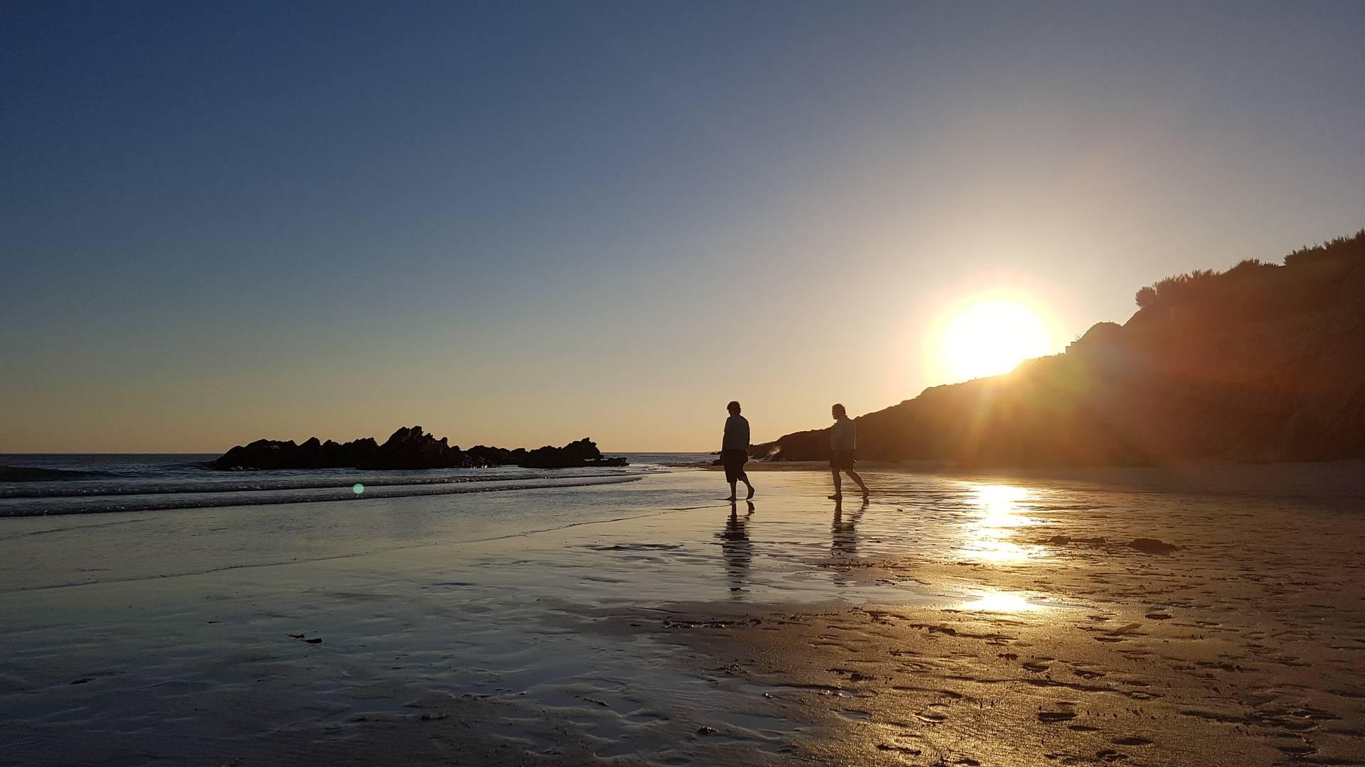 Coucher de soleil en Pays Bigouden © M Pimentel