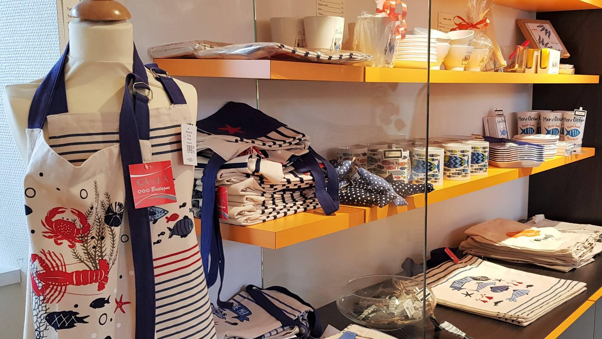 boutique des offices de tourisme du Pays Bigouden