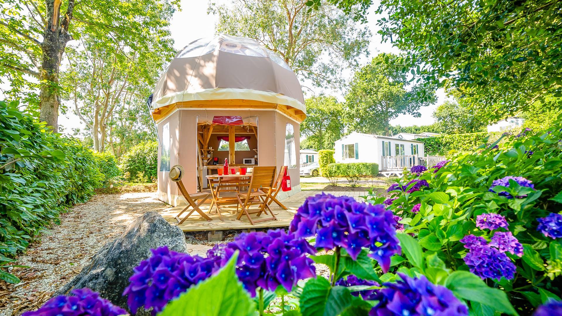 Camping de Bel Air à Landudec