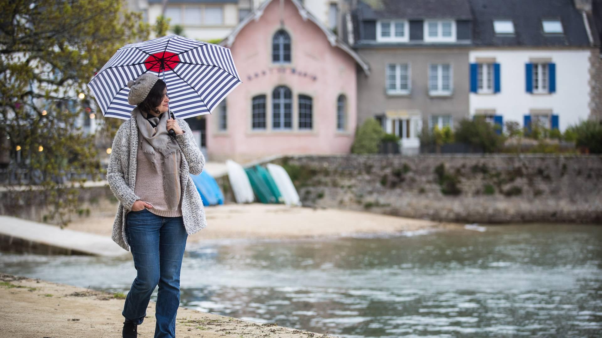 Jour de pluie en Pays Bigouden © Y Derennes