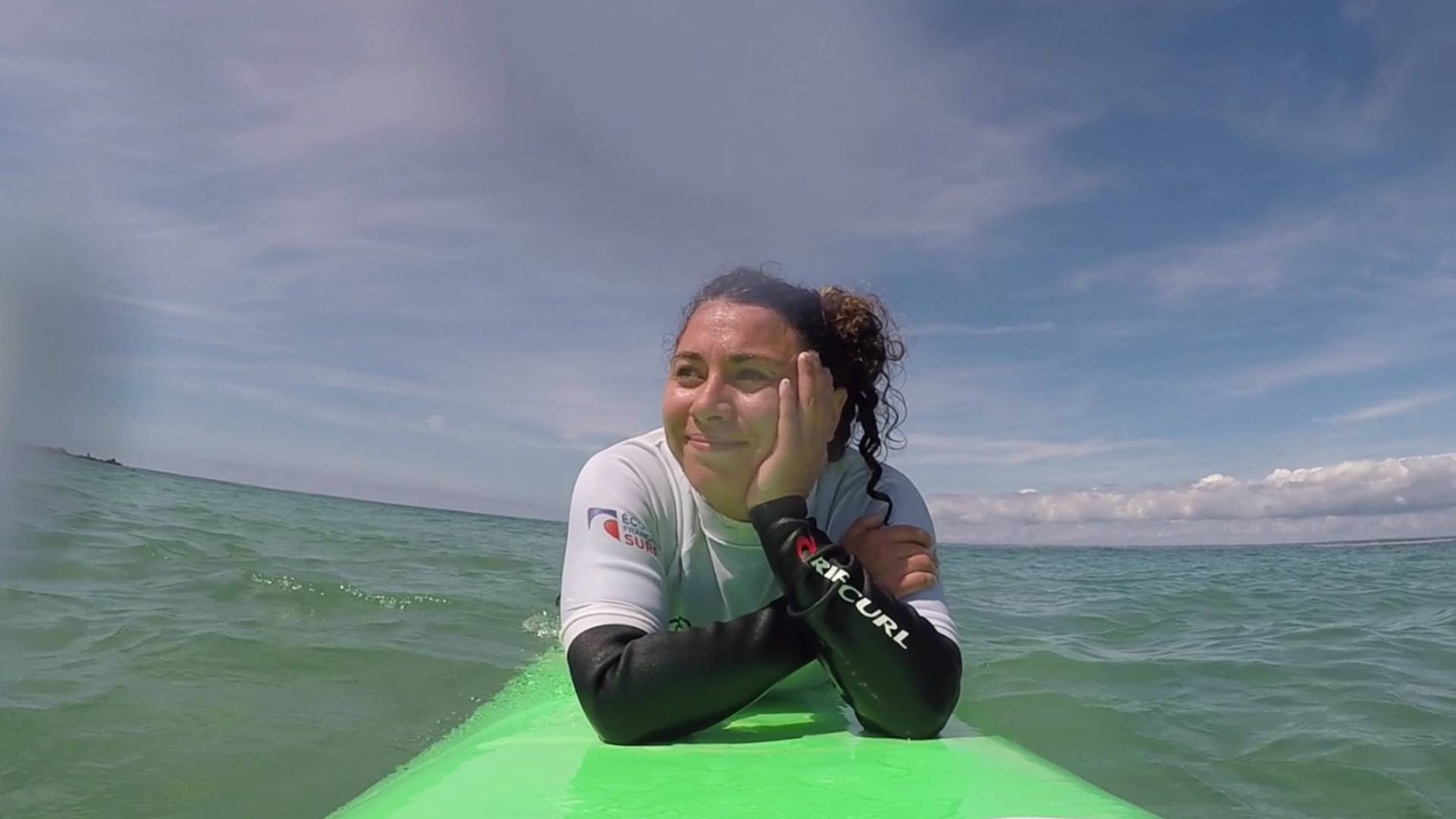Mon premier cours de surf en Pays Bigouden © E Cléret