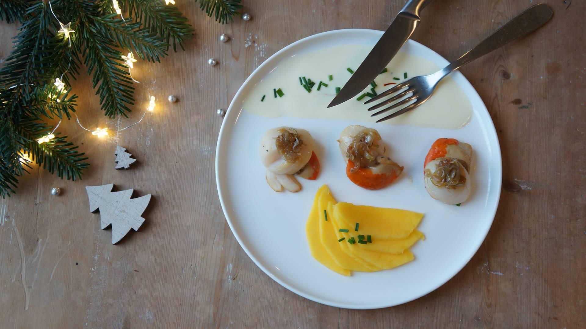Table de fête pour un Noël Bigouden
