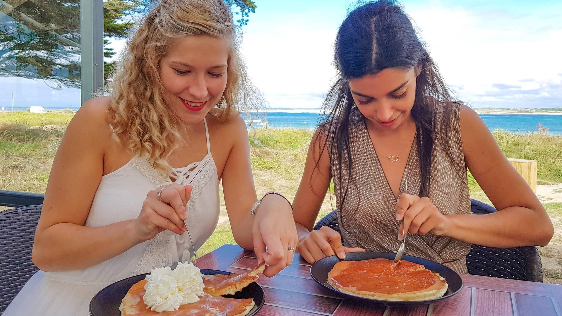 restaurant en terrasse en Pays Bigouden