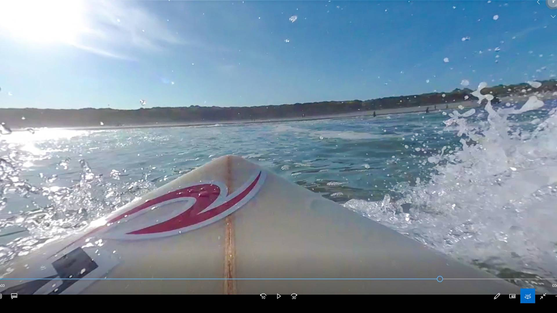 Surfez de votre canapé ©Pays Bigouden Sud