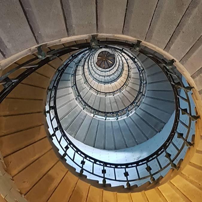 Interior of Penmarc'h lighthouse © OT Penmarc'h