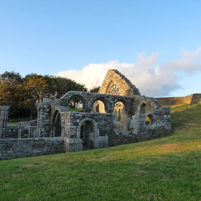 Le patrimoine du Pays Bigouden - Les Ruines de Languidou © OTHPB