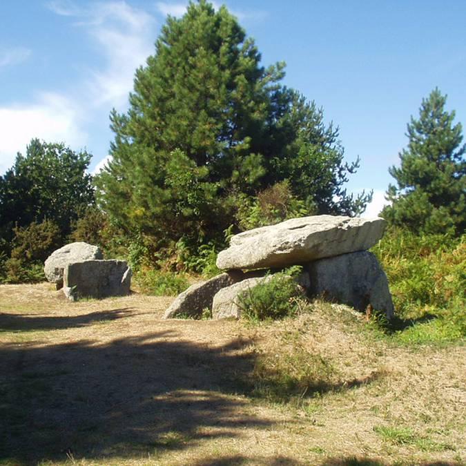 le patrimoine du Pays Bigouden - mégalithes de Lesconil © E Cléret