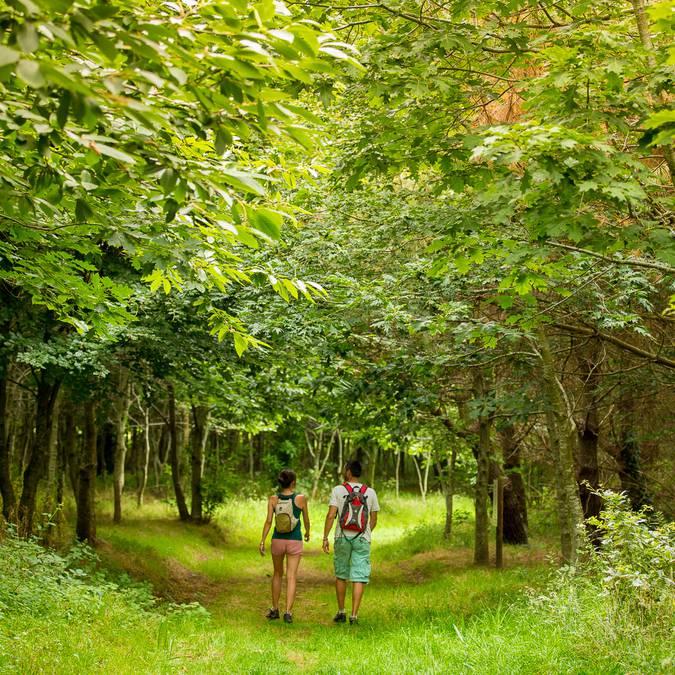 Wanderung in Plozevet im Pays Bigouden © Y Derennes