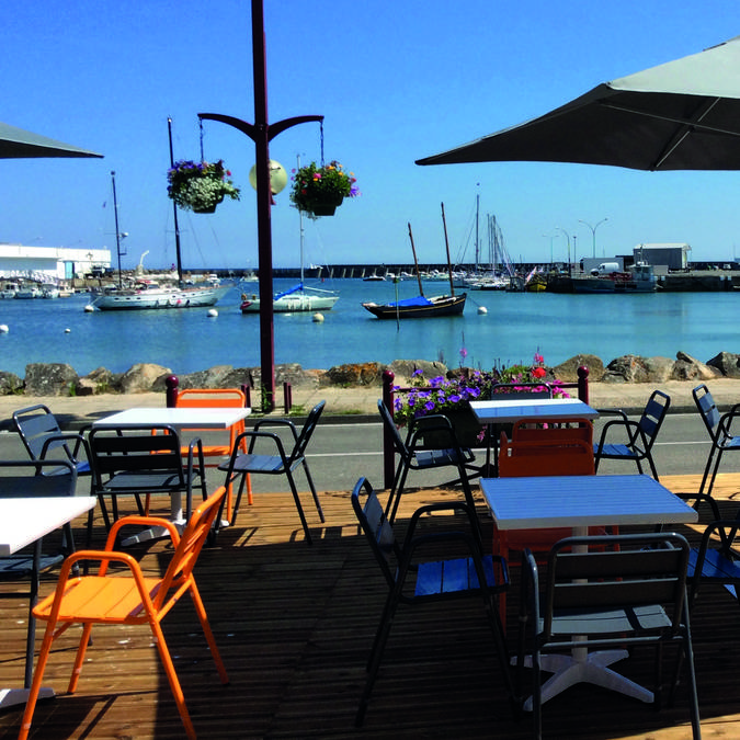 Ambiance bord de mer pour le dîner @Bistrot du Port
