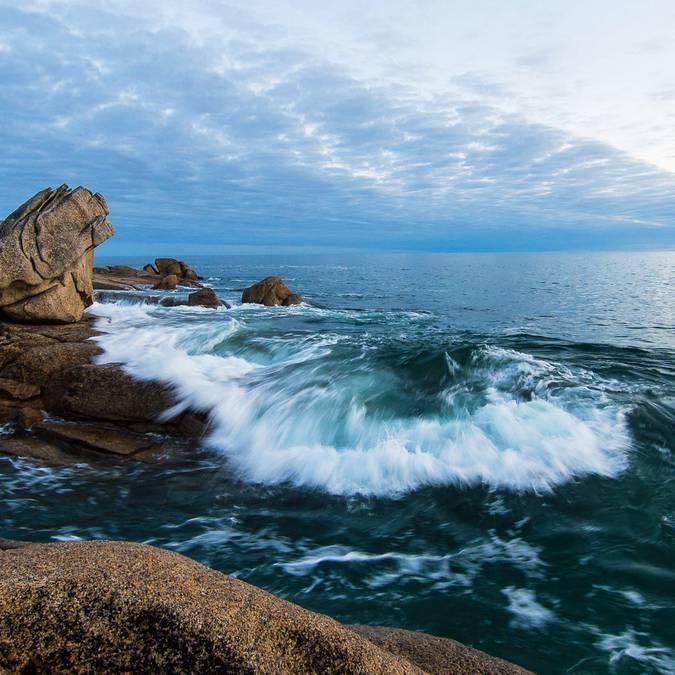 Point de vue des rochers du Goudoul de Lesconil - Pays Bigouden © Eric Moal